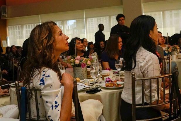 Alysia Reiner, Power Women Breakfast, NYC 2018