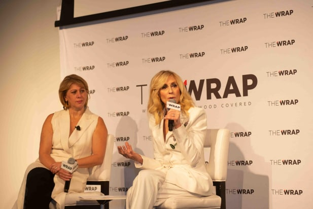 Judith Light and Sharon Waxman, Power Women Breakfast NY