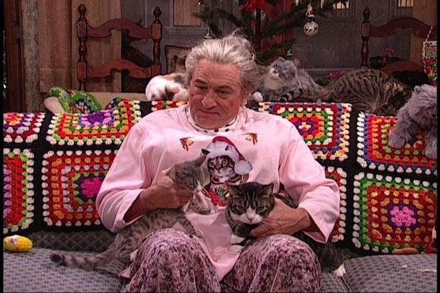 Robert De Niro Cat Lady SNL