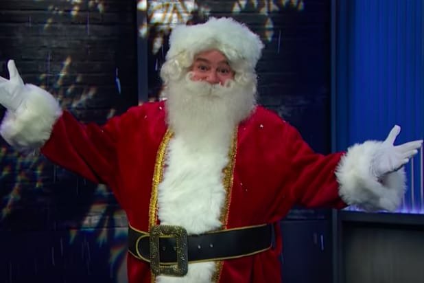90ca5bb3ce1c90 Perverse Santa Shows Up to Help John Oliver Preview Mexico Presidential  Election (Video)