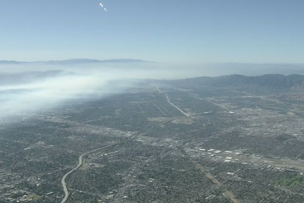 Benedict Canyon Brush fire