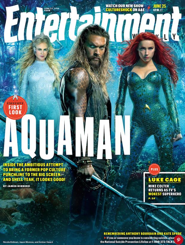 Aquaman EW cover Nicole Kidman