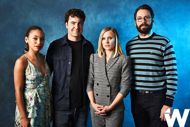 Logan Browning, Ron Livingston, Kristen Bell, and Martin Starr, Emmy Screening Series