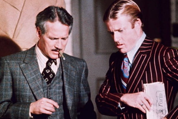 The Sting Robert Redford Paul Newman