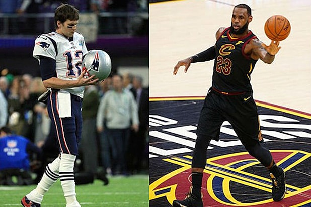 Tom Brady LeBron James