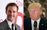 James Van Der Beek and Donald Trump