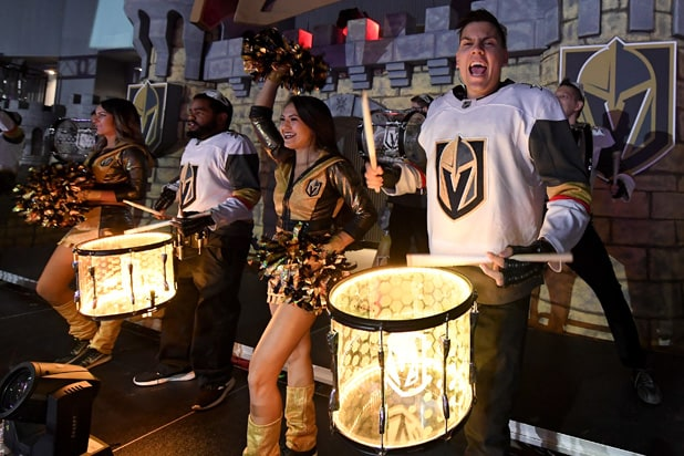 Vegas Golden Knights Drummers
