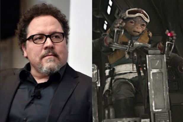 actors you didn't know were in star wars jon favreau rio durant split