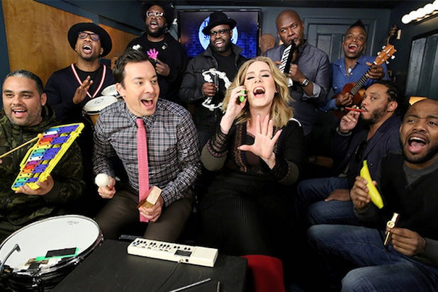 Adele Hello The Roots Jimmy Fallon Classroom Instruments