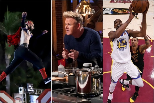 Ratings: 'American Ninja Warrior,' 'MasterChef' Bow to NBA Finals Game 3