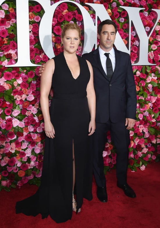 Amy Schumer and Chris Fischer attend the 72nd Annual Tony Awards at Radio City Music Hall on June 10, 2018 in New York City