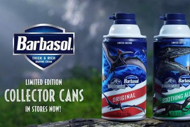 Barbasol Jurassic Park