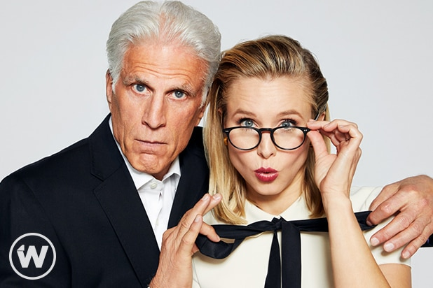 Ted Danson and Kristen Bell, The Good Place