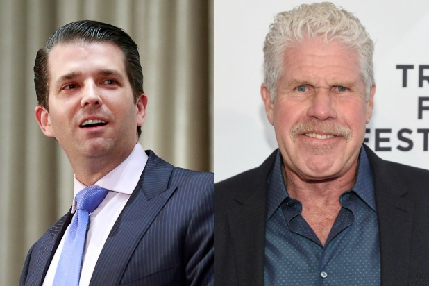 donald trump jr ron perlman