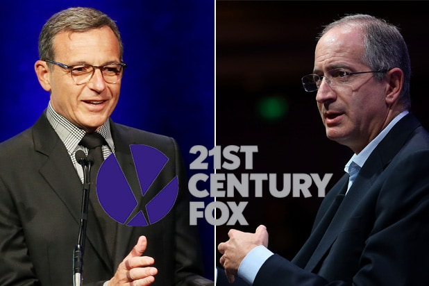 fox disney comcast bob iger brian roberts
