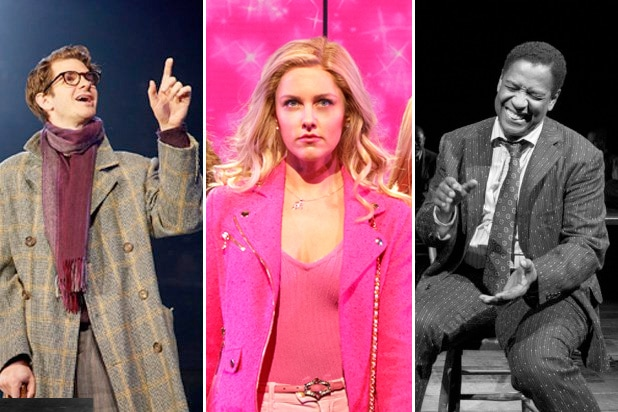broadway gender gap angels in america mean girls iceman cometh