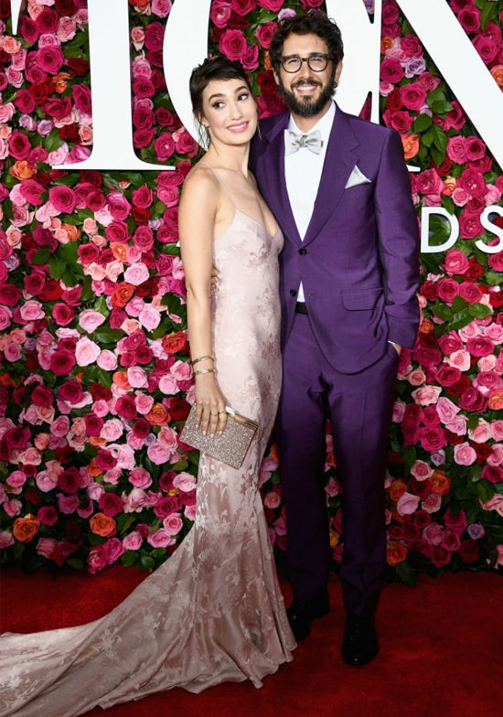 Schuyler Helford and Josh Groban attend the 72nd Annual Tony Awards at Radio City Music Hall on June 10, 2018 in New York City