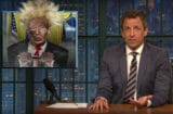 late night with seth meyers donald trump is president wile e coyote