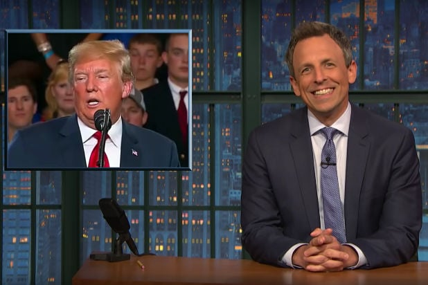 Seth Meyers On Trumps Foreighn Tour