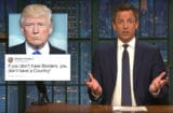 late night with seth meyers loophole to get rid of trump 2