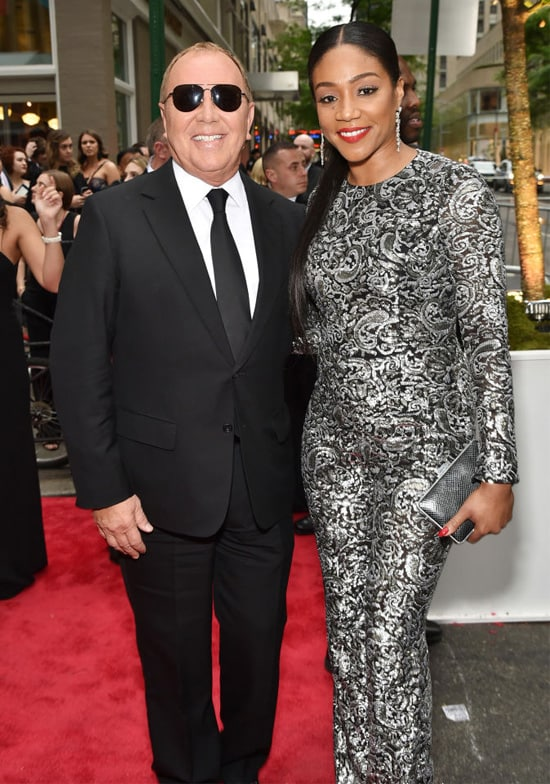 michael kors and tiffany haddish tony awards