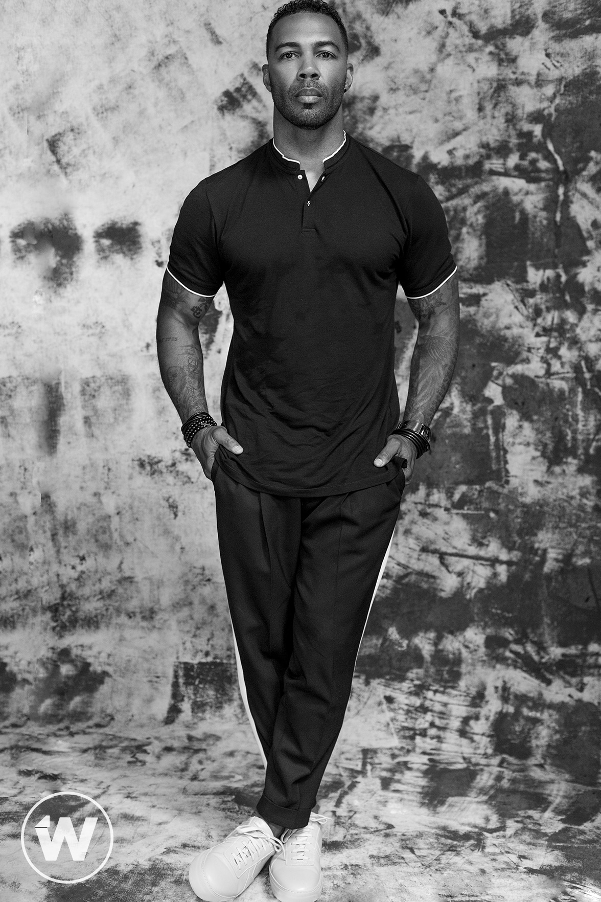 "Actor Omari Hardwick, ""Power"""