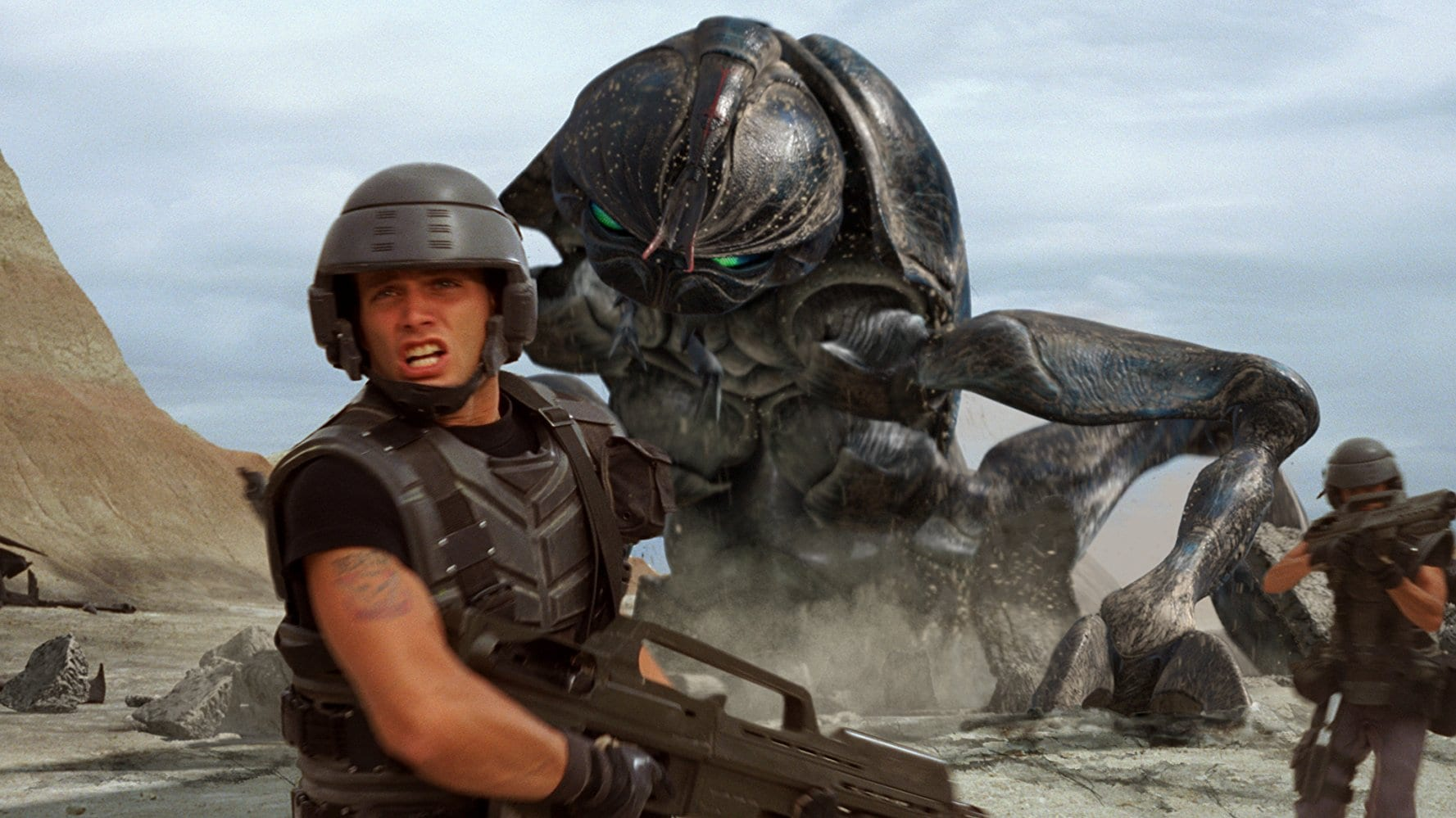 starship troopers 4k hdr blu-ray