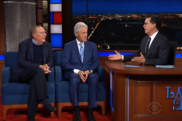 the late show with stephen colbert the full interview with bill clinton