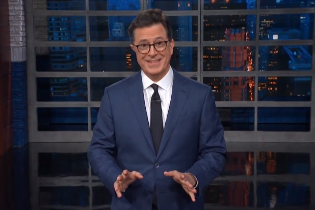 Colbert Impressed By Trump S Claim That Canada Burned The White