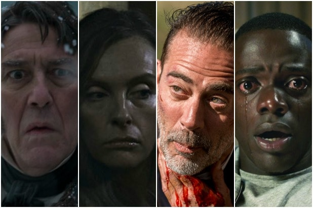 the terror hereditary the walking dead get out