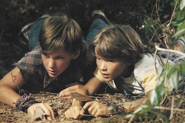 The Client Brad Renfro and David Speck