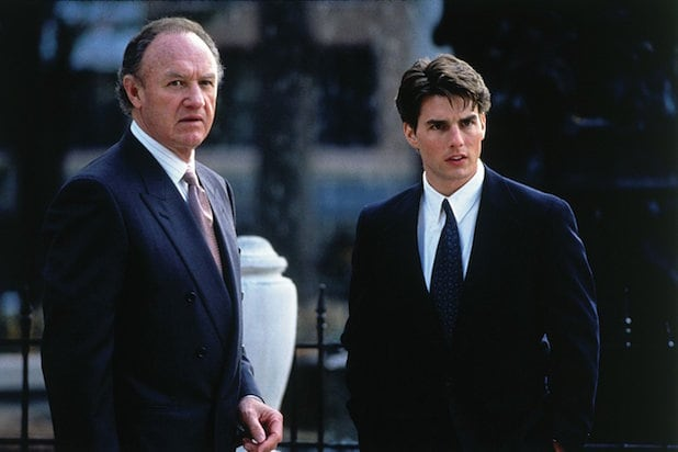 The Firm Gene Hackman and Tom Cruise