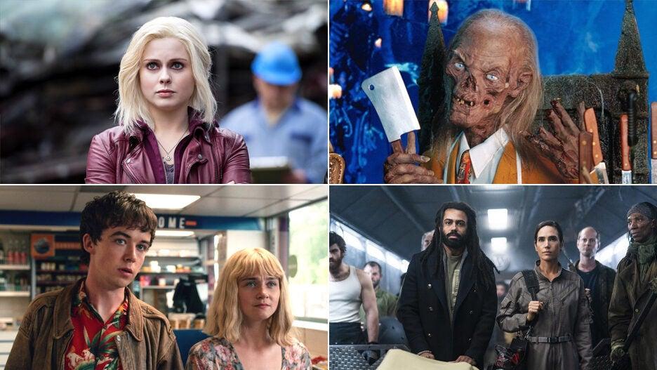 tv shows comic books