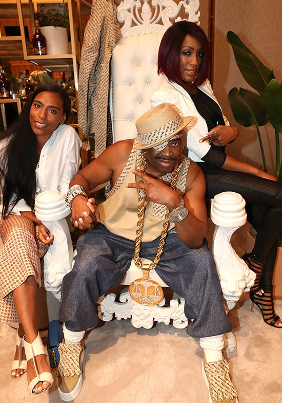 Mandy Aragones, Slick Rick, and Terry Ellis of En Vogue