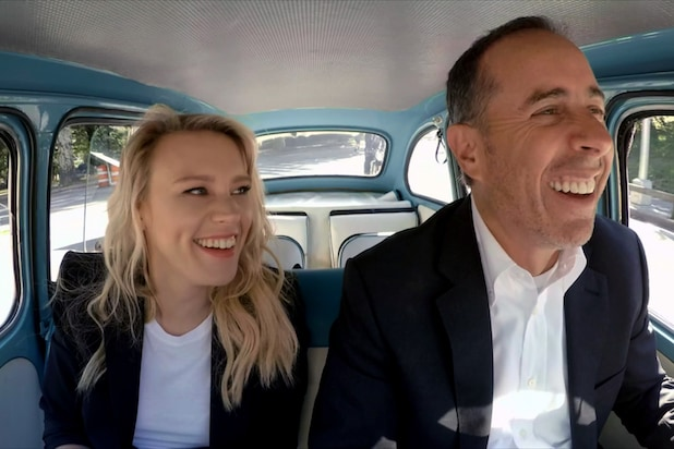 Kate McKinnon Jerry Seinfeld Comedians in Cars Getting Coffee