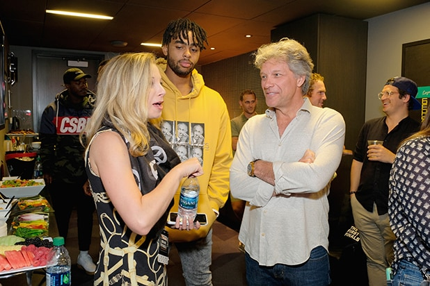 DAngelo Russell, and Jon Bon Jovi