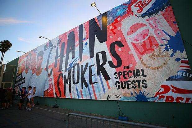 Chainsmokers Pepsi Generations Mural