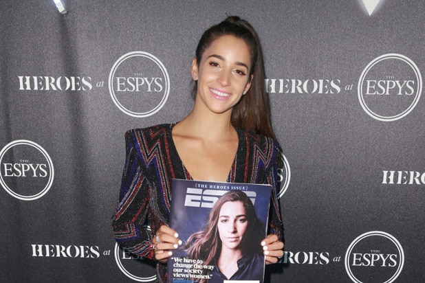Aly Raisman HEROES at ESPYS