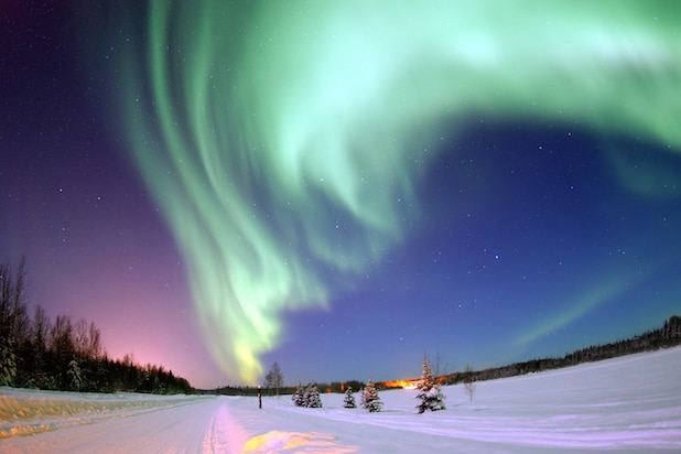 Planet Earth Aurora Borealis
