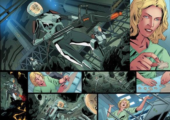 Battlestar Galactia comics