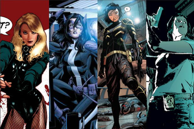 Birds of Prey Black Canary Huntress Cassandra Cain Renee Montoya