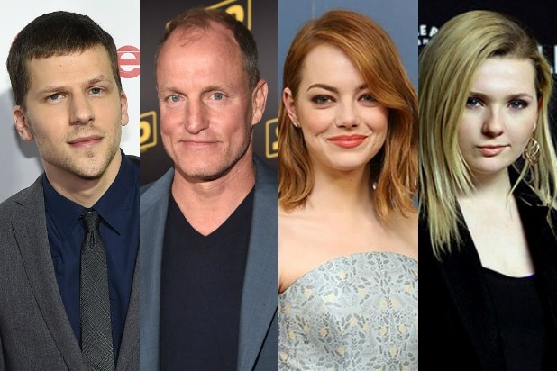 Zombieland' Sequel to Reunite Emma Stone, Jesse Eisenberg, Woody