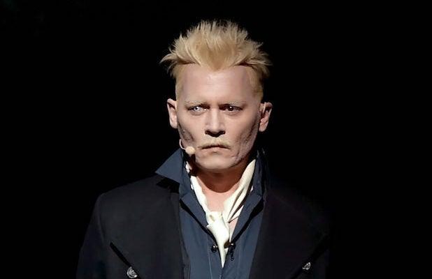 Johnny Depp Comic-Con 2018 Fantastic Beasts