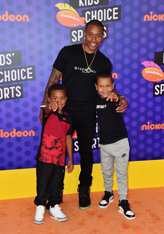 Isaiah Thomas Nickelodeon Kids' Choice Sports 2018 - Arrivals