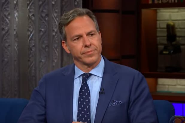 Jake Tapper on 'The Late Show'