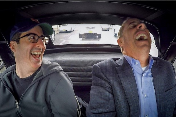 John Oliver Jerry Seinfeld Comedians in Cars Getting Coffee