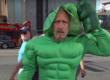 Jon Stewart on Kimmel Hulk Costume