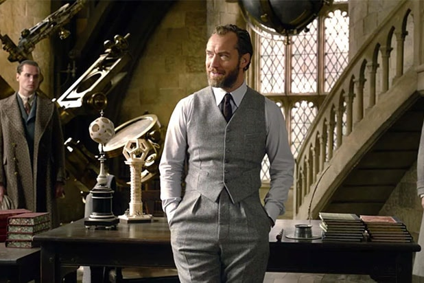 Jude Law Dumbledore