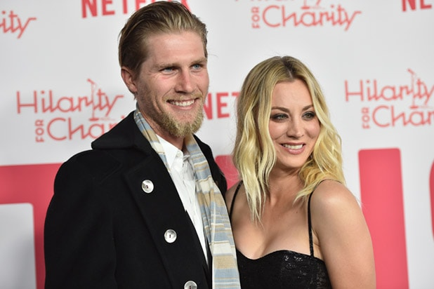 Kaley Cuoco Spends Honeymoon in Hospital Bed (Photo)