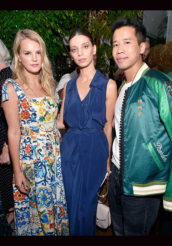 Kelly Sawyer Patricof, Angela Sarafyan and Jared Eng